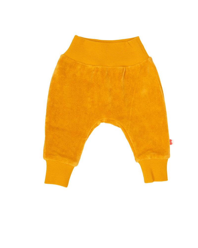 Froy & dind Broekje velours Iggy | Mustard