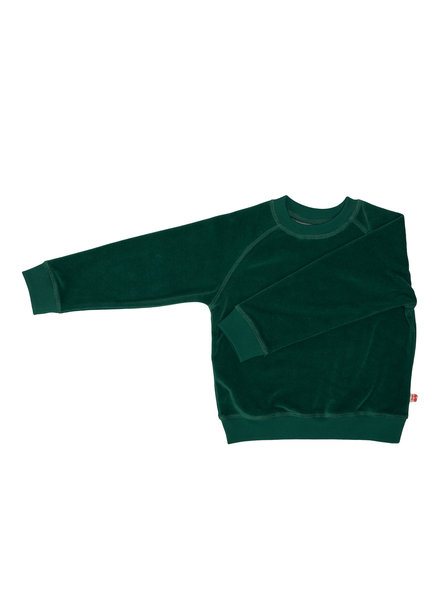 Froy & dind Sweater Ilias | Velours Evergreen