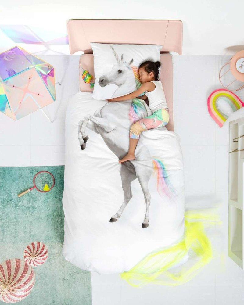 Snurk Dekbedset ledikant | Unicorn