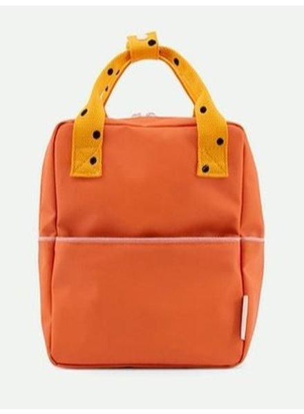 Sticky Lemon Rugzak S   Freckles carrot orange + sunny yellow + candy pink