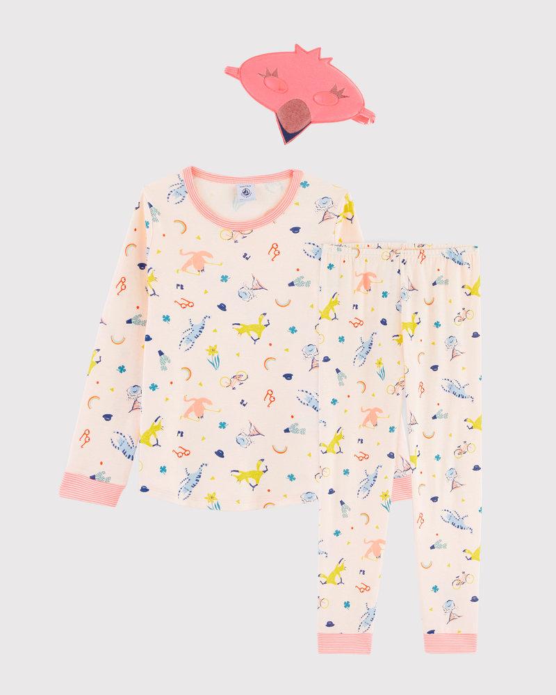 Petit Bateau Verkleedpyjama roze flamingo