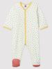 Petit Bateau Fluwelen pyjama met confettiprint