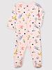 Petit Bateau Roze pyjama met fantasieprint