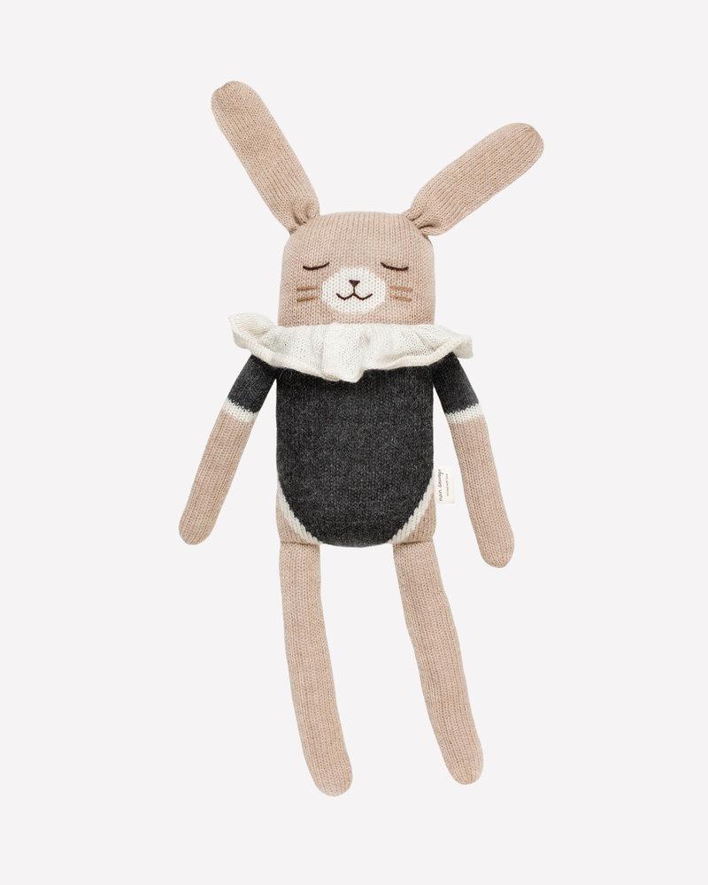 Main Sauvage Doudou konijn zwart