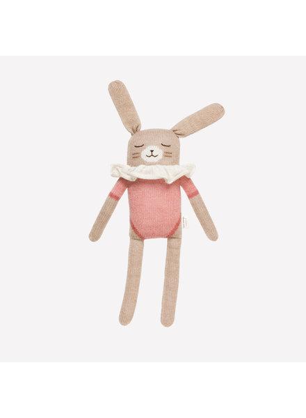 Main Sauvage Doudou konijn roze