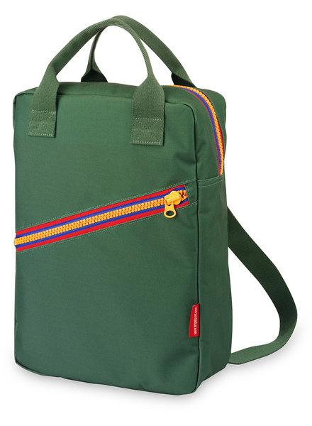 Engel. Rugzak large 'Zipper Green'- PROMO