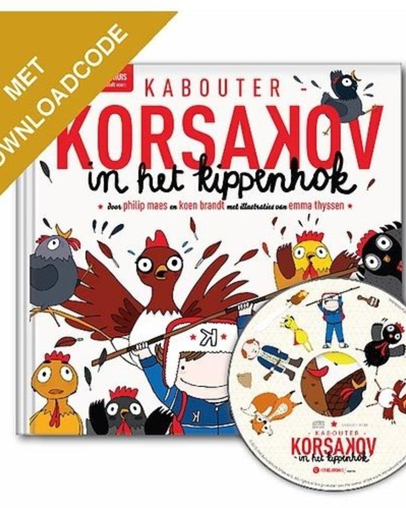 Het Geluidshuis Kabouter Korsakov in het kippenhok