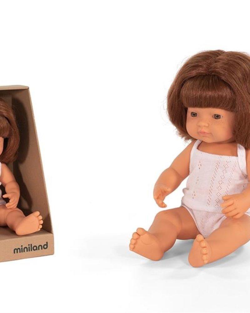 Miniland Pop | Roodharig meisje - vanillegeur (38cm)