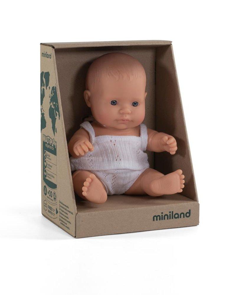 Miniland Babypop | Europees meisje - vanillegeur (21cm)