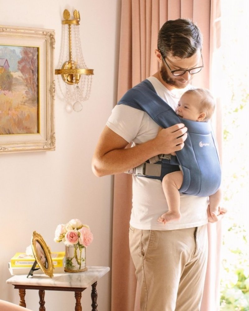 Ergobaby Babydraagzak Embrace Soft Navy