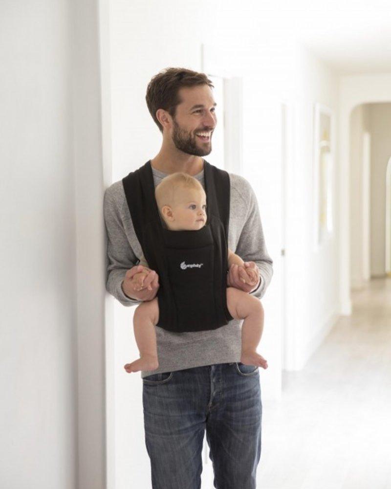 Ergobaby Babydraagzak Embrace Pure Black