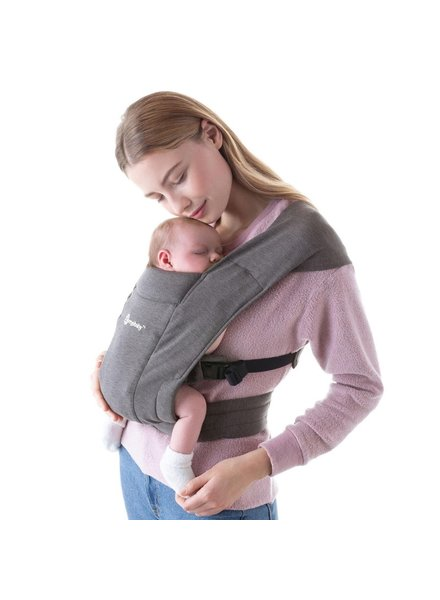 Ergobaby Babydraagzak Embrace Heather Grey