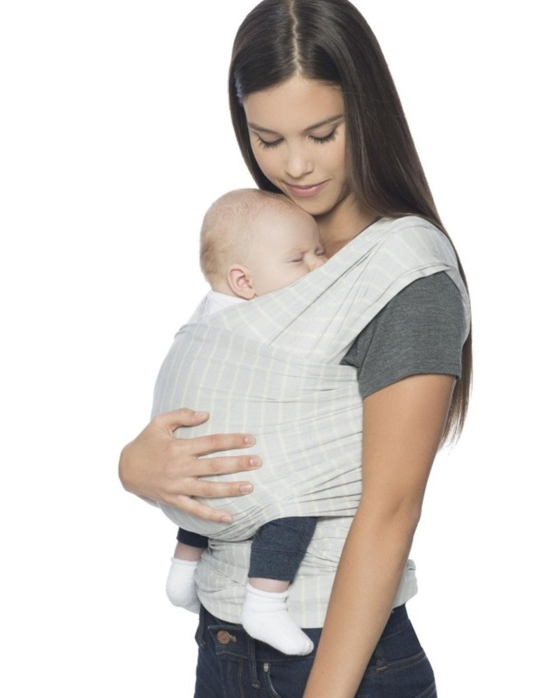 Ergobaby Draagdoek Aura (Wrap) Grey Stripes