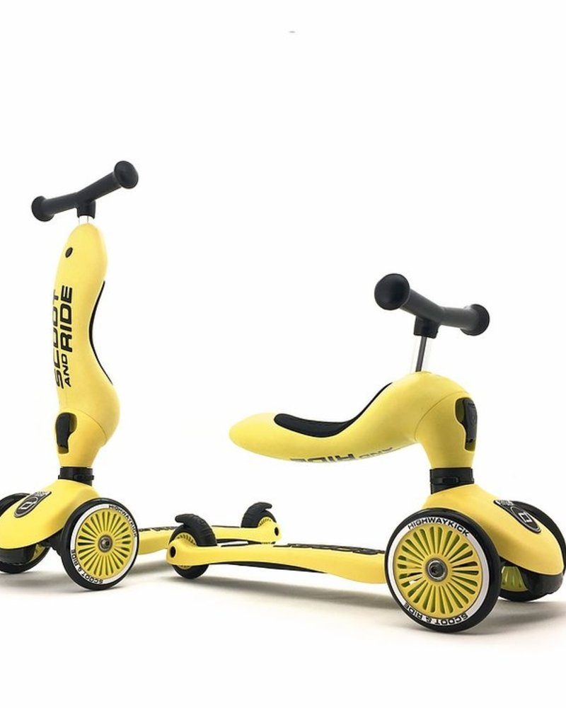 Scoot and Ride Step - Highwaykick 1 - Lemon
