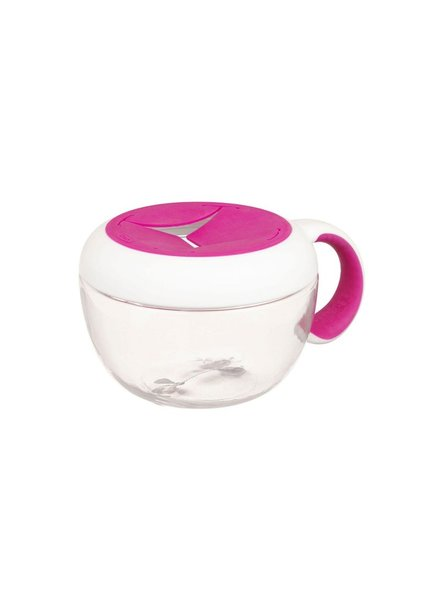 oxo tot Flippy Snack Cup | Pink