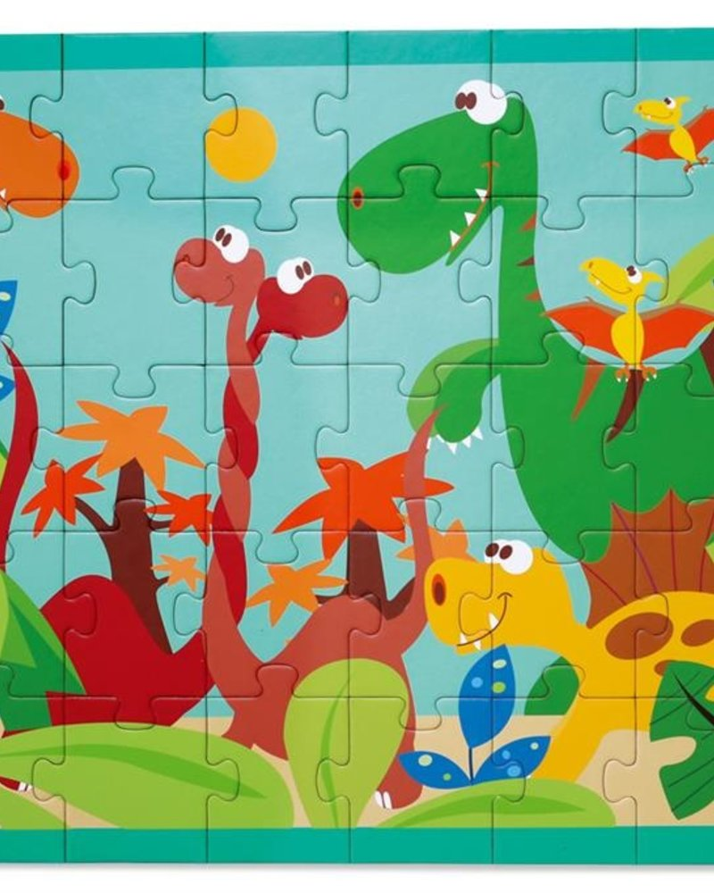 Scratch Puzzel 40st | Dino Wereld