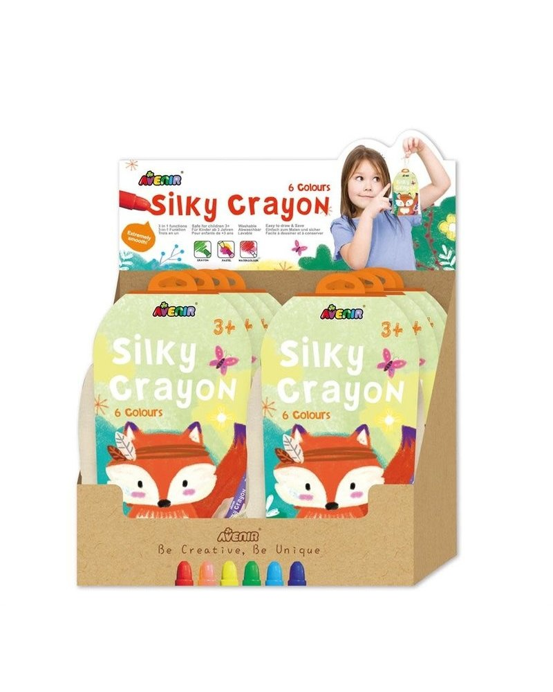 Avenir Silky Crayon | 6 kleuren