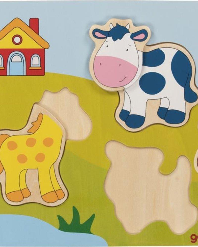 Goki 3D puzzel | Boerderij
