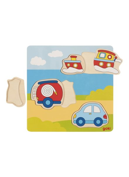 Goki 3D puzzel | Voertuigen - PROMO