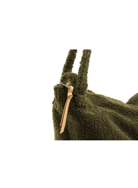 Nanami Teddy lifestyle bag | Green