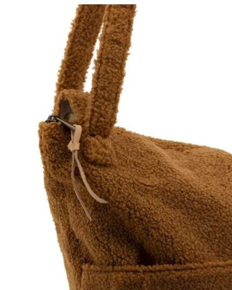 Nanami Teddy lifestyle bag | Caramel