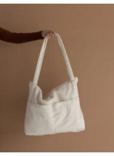 Nanami Teddy lifestyle bag | Off-white