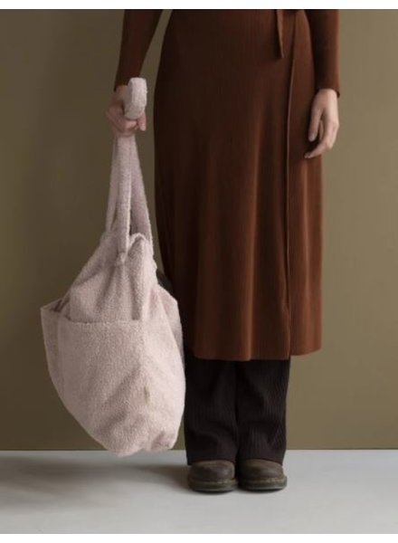 Nanami Teddy lifestyle bag | Soft pink