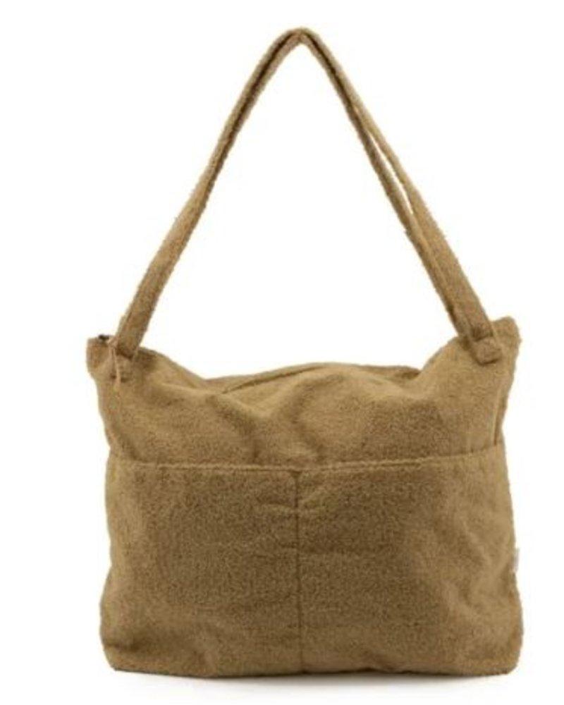 Nanami Teddy lifestyle bag | Sand