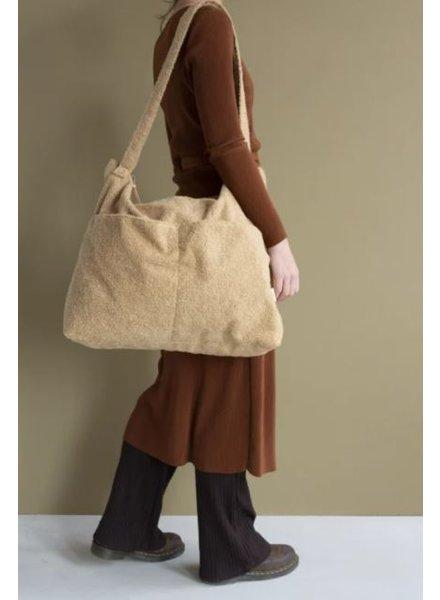 Nanami Teddy lifestyle bag | Sand - PROMO