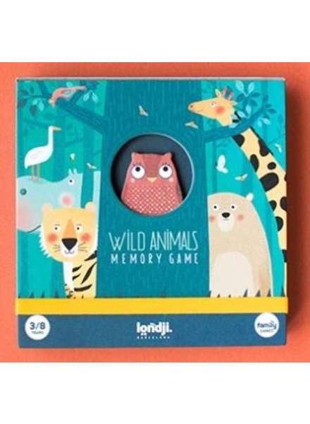 Londji Memory Game | Wild Animals