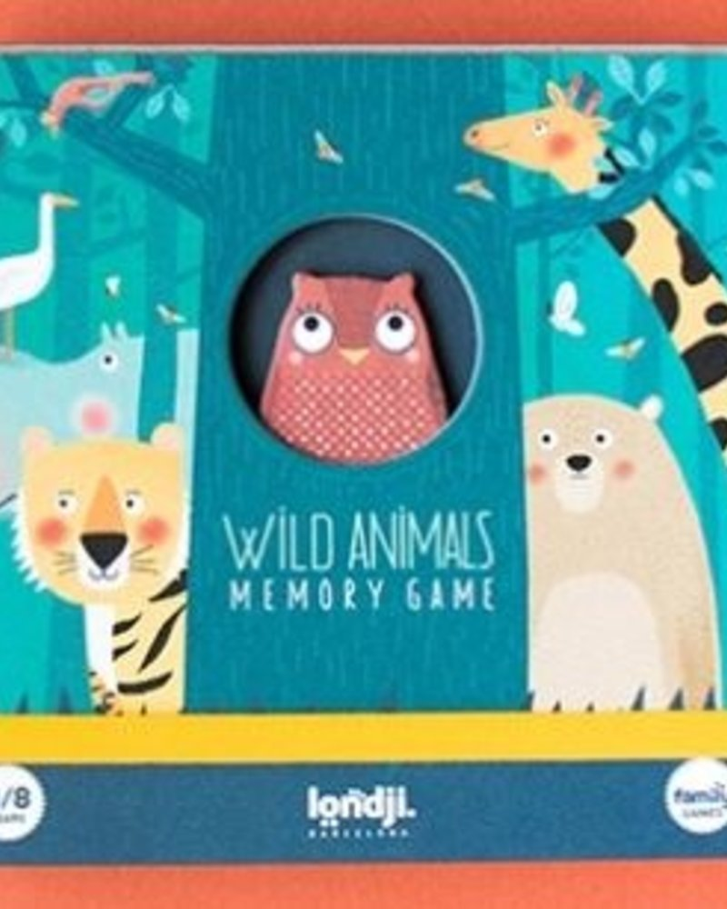 Londji Memory Game   Wild Animals