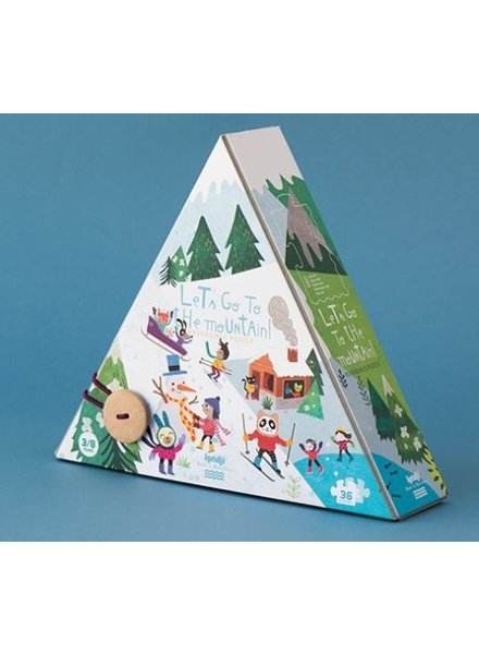 Londji Let's go to the mountain | Omkeerbare puzzel - 36st.
