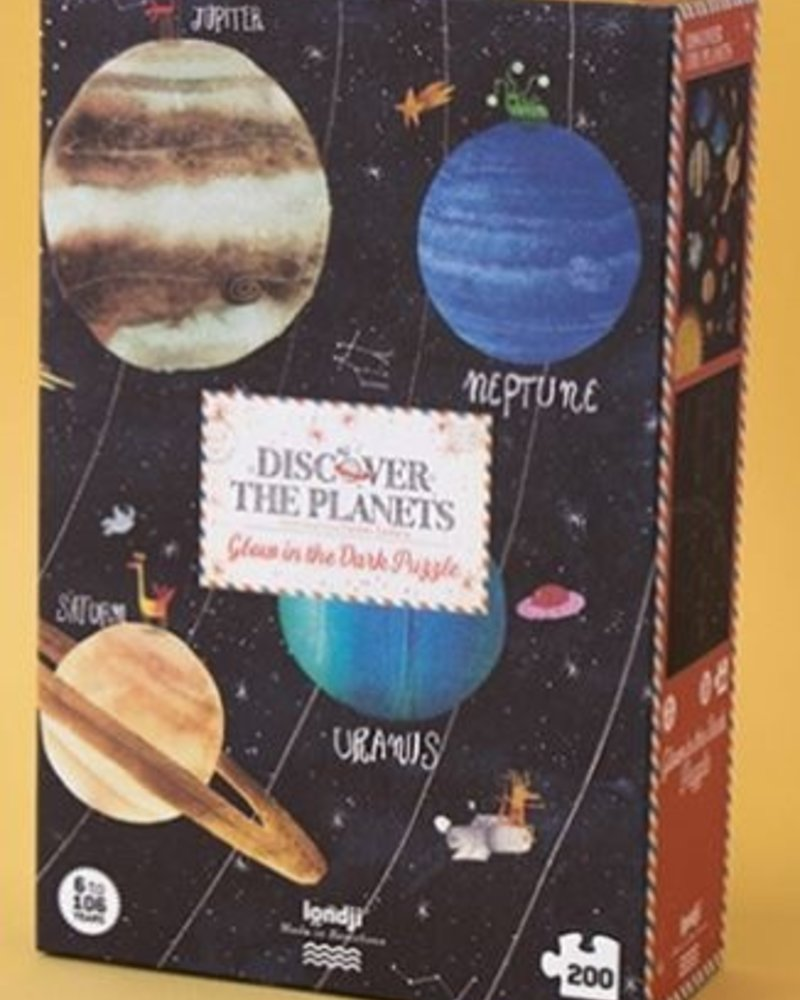 Londji Discover the planets   Puzzel