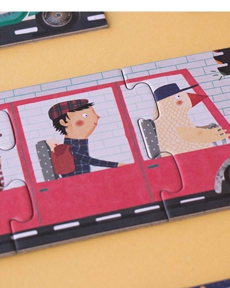 Londji 10 Travelers - Puzzel
