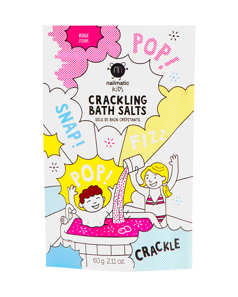 Nailmatic Knetterend badzout | Roze