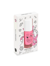 Nailmatic Nagellak op waterbasis | Pink glitter | Kitty