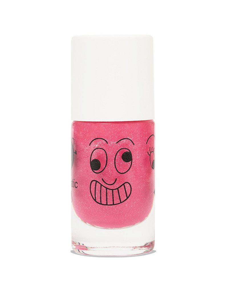 Nailmatic Nagellak op waterbasis   Pink glitter   Kitty