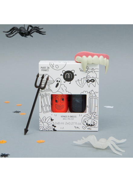 Nailmatic Nagellak op waterbasis | Duo Halloween