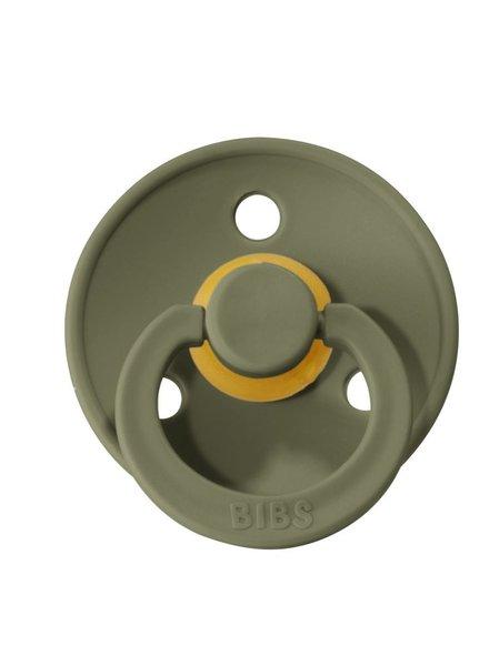 Bibs Fopspeen natuurrubber maat 2 | Olive