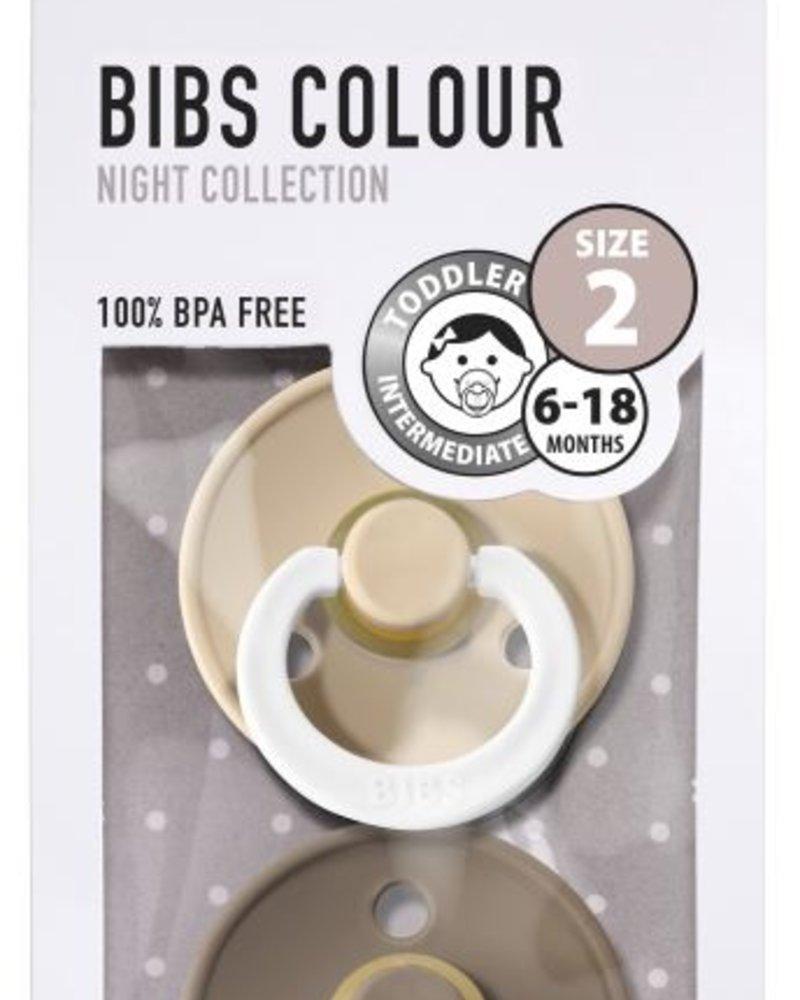 Bibs Set van 2 Bibs maat 2 - GID Vanilla + Dark oak