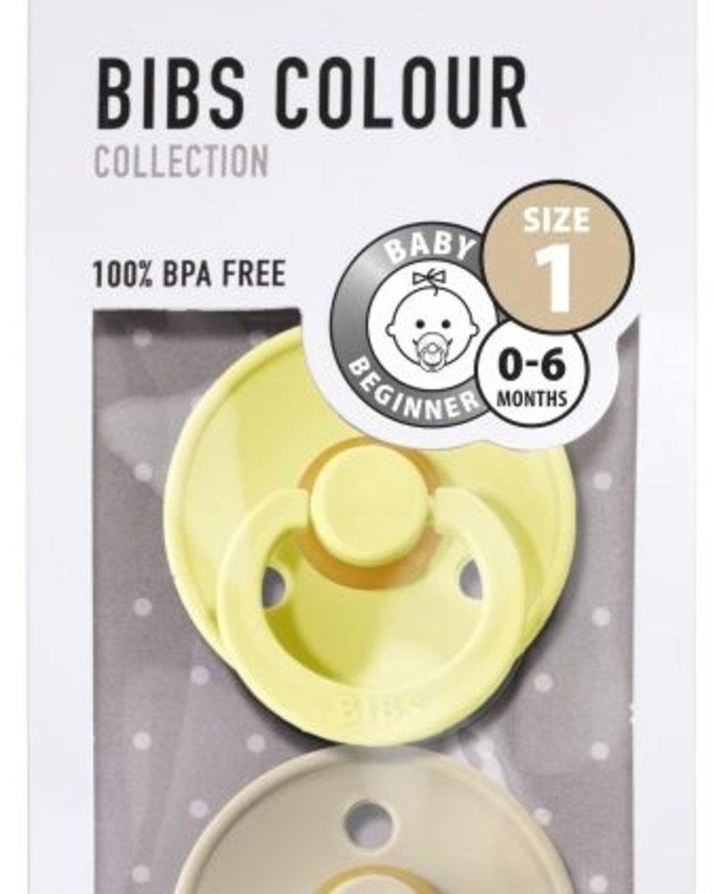 Bibs Set van 2 Bibs maat 1 - Sunshine + Sand