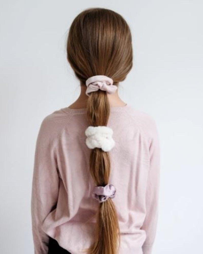 Mimi x Lula Luxe Scrunchies Blush
