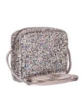 Mimi x Lula Mimi Glitter Bag | Hematite