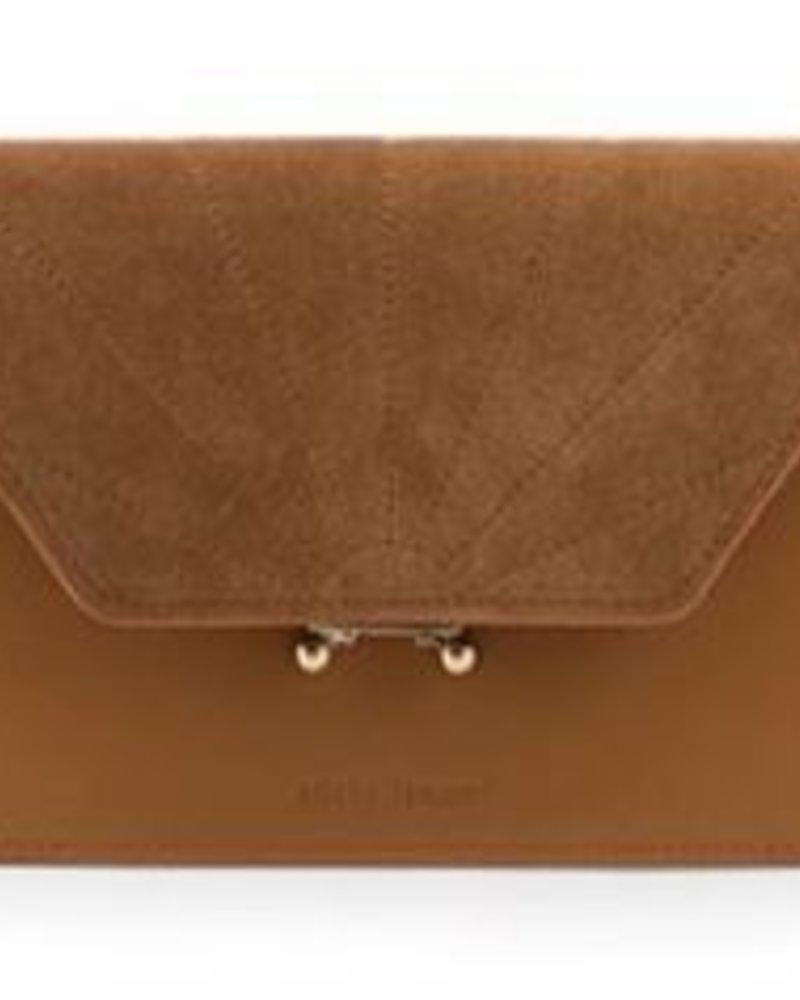 The Sticky Sis Club Shoulder Bag ton sur ton |  Cider Brown