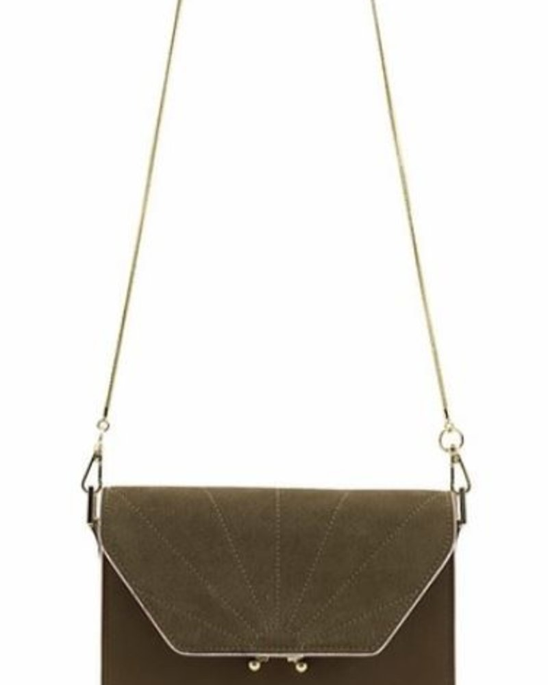 The Sticky Sis Club Shoulder Bag ton sur ton |  Olive Green