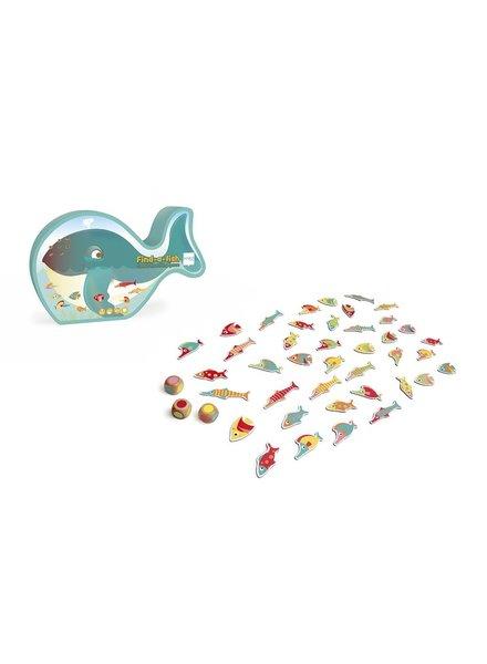 Scratch Find-a-fish kleurenspel