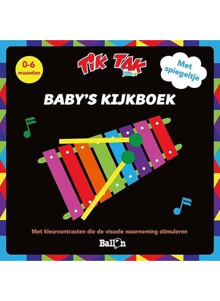 Ballon Tik Tak - Baby's kijkboek - Buikboek met spiegeltje