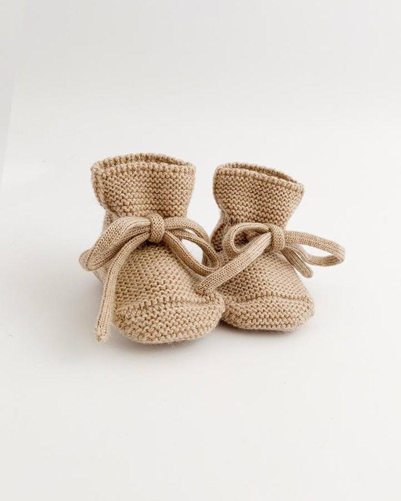 Hvid Booties | Sand