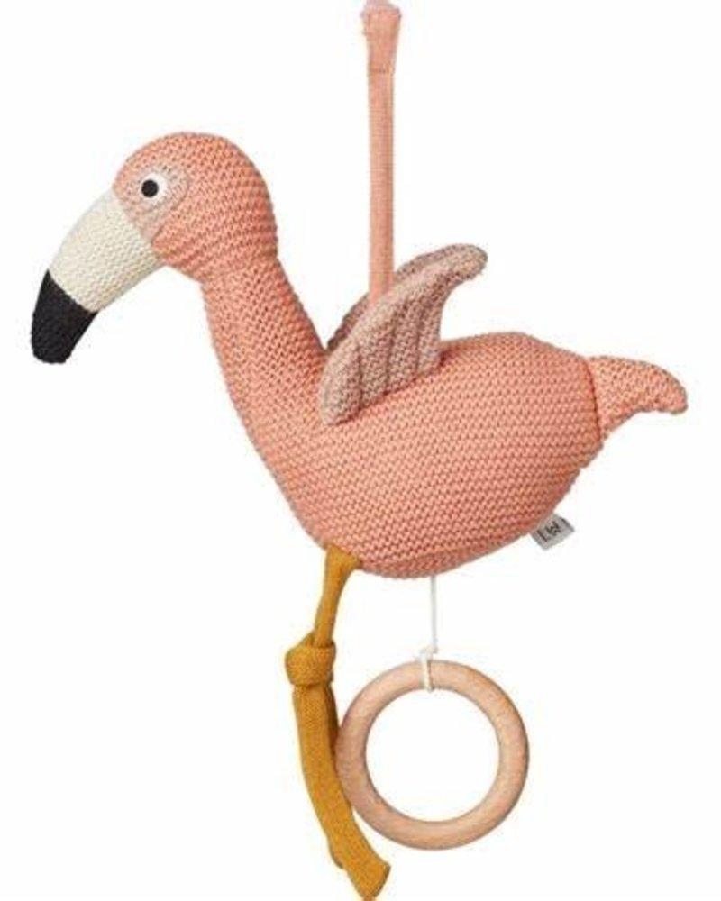 Liewood Angela muziekmobiel - Flamingo coral rose
