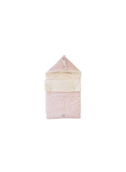 Nanami Voetenzak (geschikt voor 3-puntsgordel)    Floating ice teddy - Roze